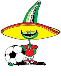 Mascotte WK 1986
