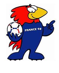Mascotte WK 1998
