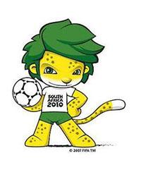 Mascotte WK 2010