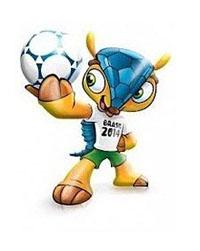 Mascotte WK 2014
