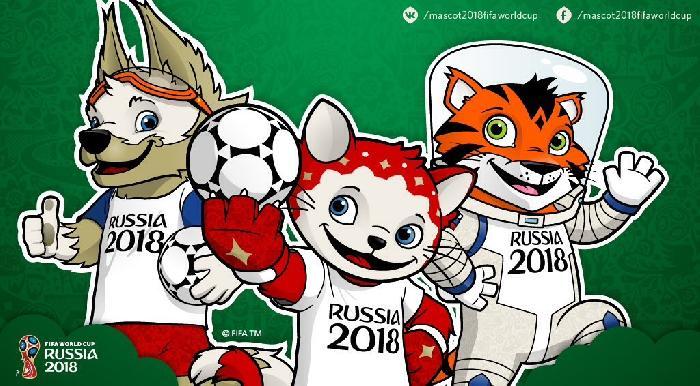 Als WK 2018 mascotte wordt gekozen tussen de kat, de tijger en de wolf