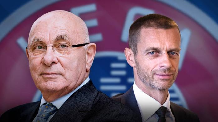 Ceferin is de nieuwe voorzitter van de UEFA ten kosten van Van Praag