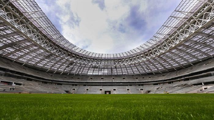 In september 2016 worden alle WK 2018 stadions en speelsteden beoordeeld