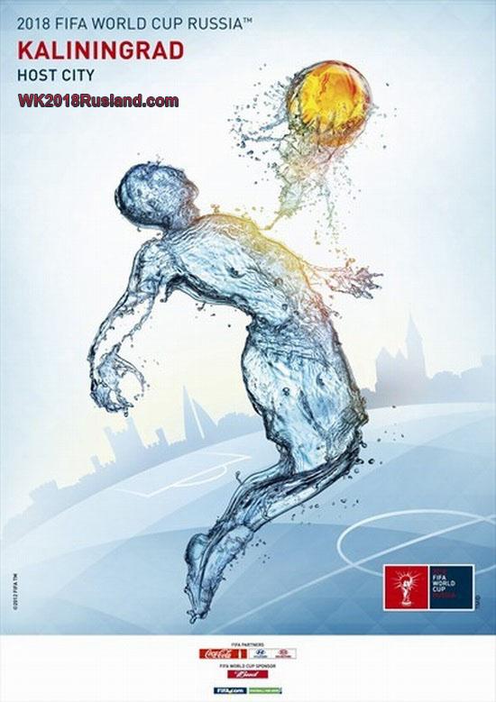 WK 2018 poster: Kaliningrad