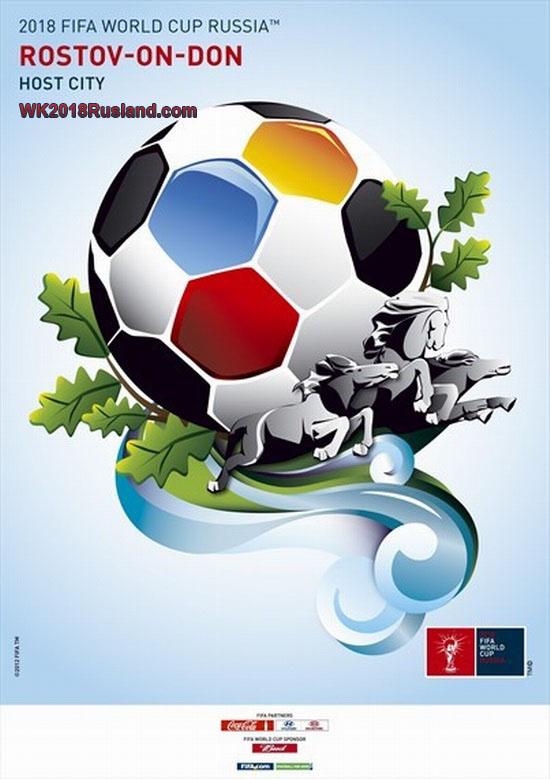 WK 2018 poster: Rostov aan de Don