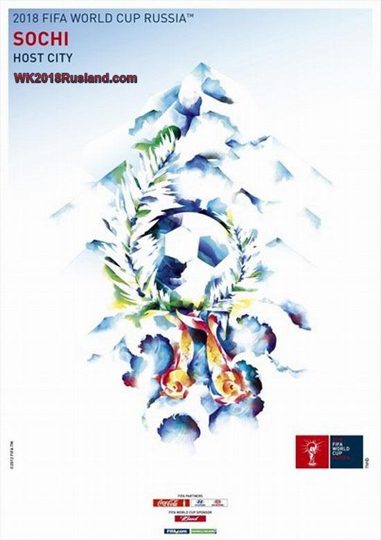 WK 2018 poster: Sotsji